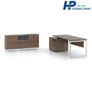 Bàn gỗ trưởng phòng HPT01