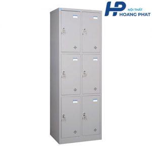 Tủ sắt locker 6 ngăn TU983-2K
