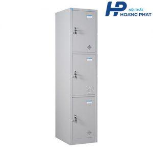 Tủ sắt locker 3 ngăn hiện đại TU983